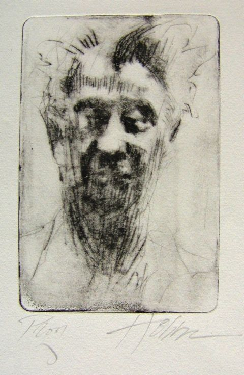 Frank Hobbs  Drypoint