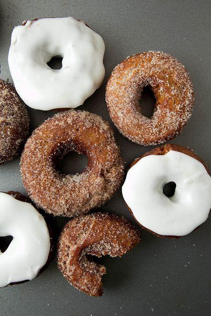 Gingerbread Donuts - lekker vir winter ☺