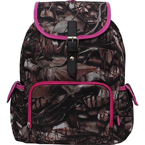 Pink Camo Backpacks for School