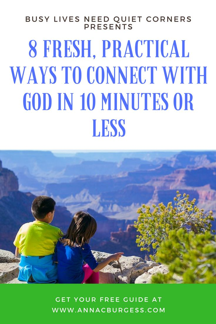 Grab your free guide now with short quiet time ideas at www.annacburgess.com #timewithGod #quiettimeideas