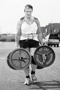 Amy Wattles -- EliteFTS sponsored athlete, strongwoman competitor, grip champion