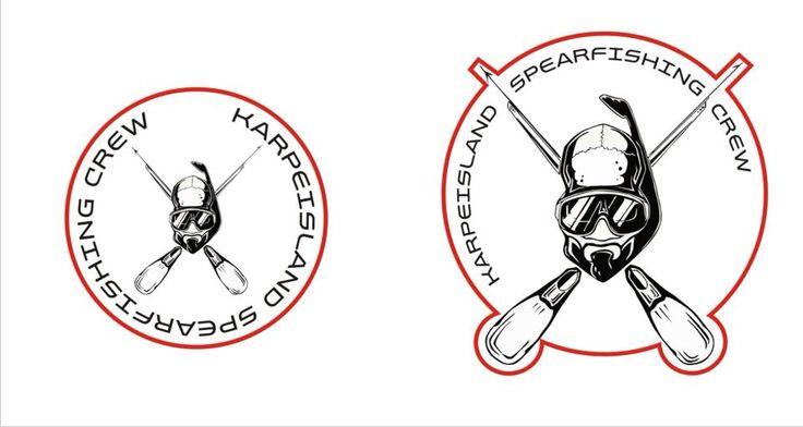 our logo -karpeisland spearfishing crew