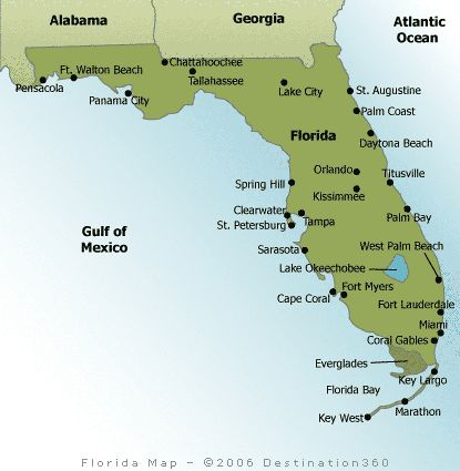 Trending Map Of Florida Beaches Ideas On Pinterest Florida - Beaches in the us map