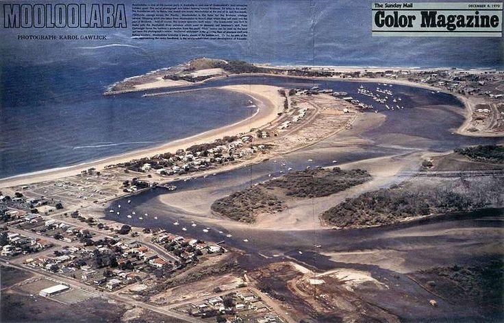MOOLOOLABA QUEENSLAND AUSTRALIA 1970/THE SUNDAY MAIL