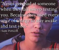 Sam awe this is so true and sweet wish I still had that!