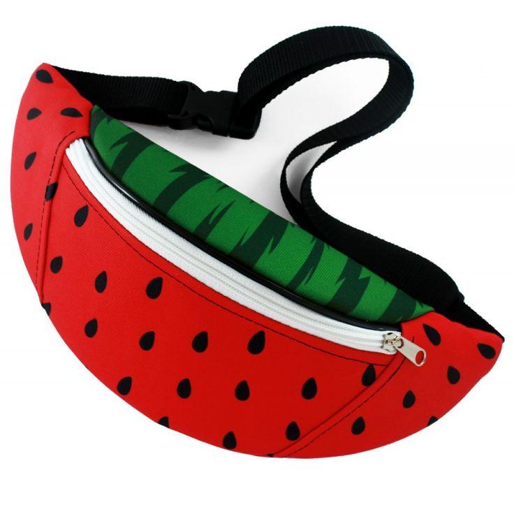 Nerka Cherrish Watermelon / hipbag watermelon - polscy projektanci / polish fashion designers - ELSKA