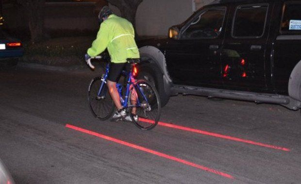 Laser Bike Lane | www.piclectica.com