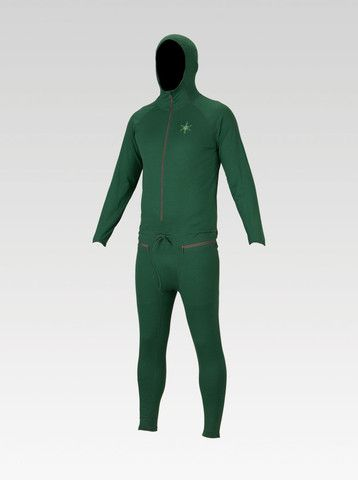 Airblaster Ninja Suit Base Layer - Forest Green