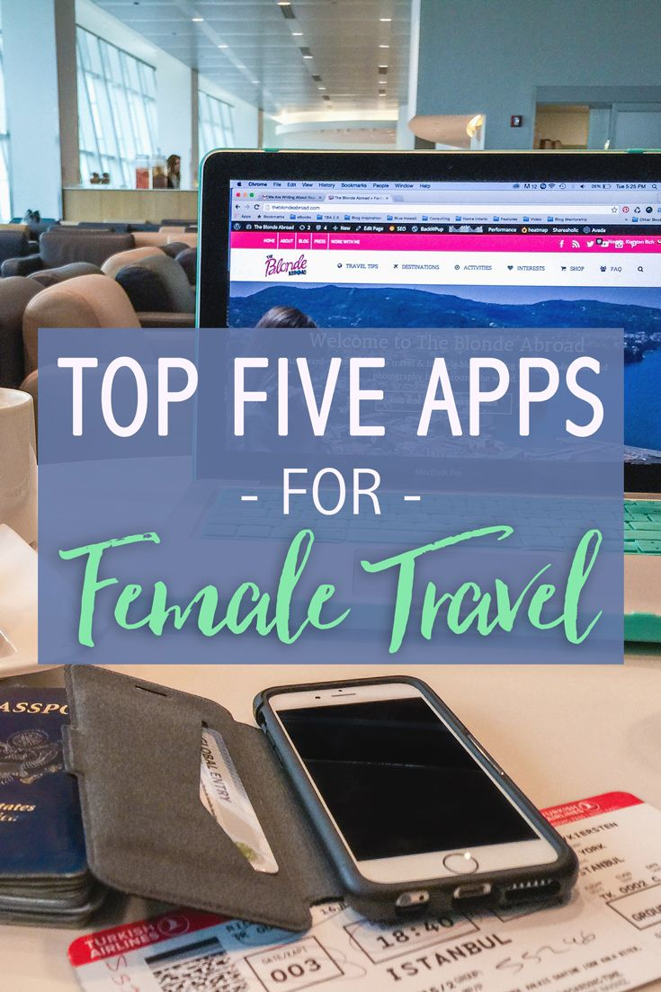 Technology plays a part in our daily lives, and especially while you're traveling. Apps on the market can help travelers in so many ways. Want to find the perfect female travel partner? Need to find a bathroom in a foreign city ASAP? It's all covered. I've compiled my favorite apps for female travel that you should try on your next trip!