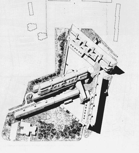 Carlo Aymonino & Aldo Rossi, Monte Amiata Housing, Gallaratese, Via Enrico Falck, 20151 Milano, 45.497955, 9.100643, 1967-74 sources: housingprototypes googlemap