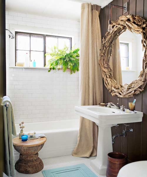 20 Budget Friendly Bath Ideas. Shower Curtain RodsShower CurtainsBathroom  ...