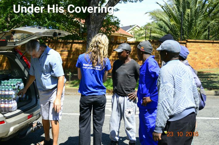 Under his Covering.  Carike Pretorius Founder and director.  Willie Pretorius