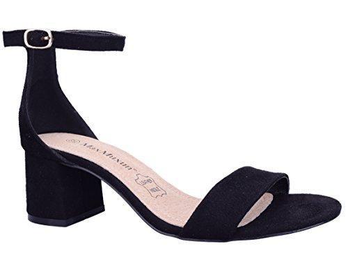 Oferta: 32.99€ Dto: -39%. Comprar Ofertas de MaxMuxun Zapatos de Tacón Ancho Negro Popular Comodida para Mujer Tamaño 41 EU barato. ¡Mira las ofertas!