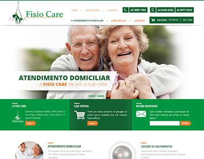 Website da Fisiocare