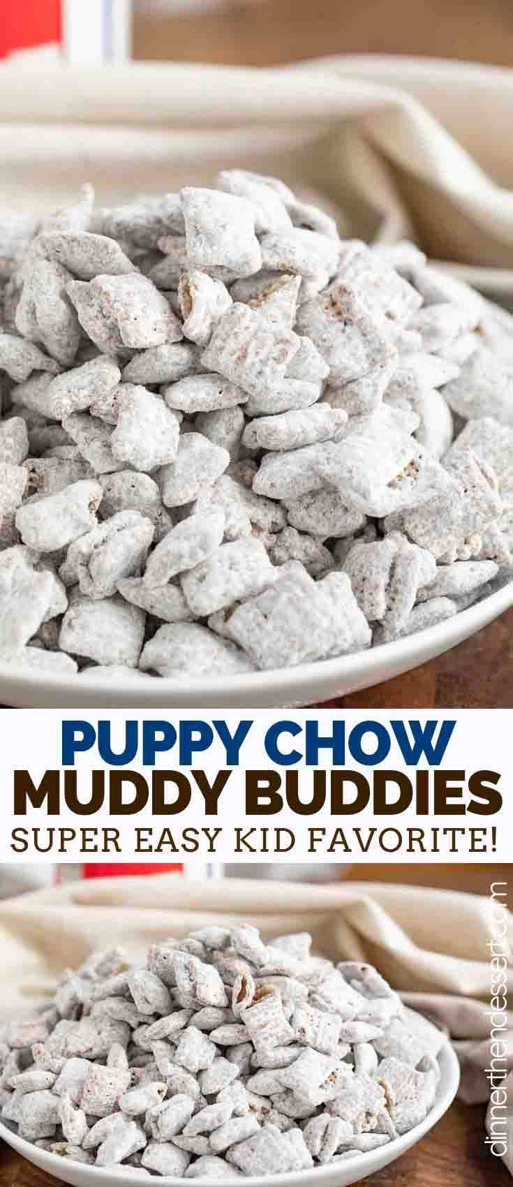 Puppy Chow Muddy Buddies Is The Perfect Sweet And Crunchy Party