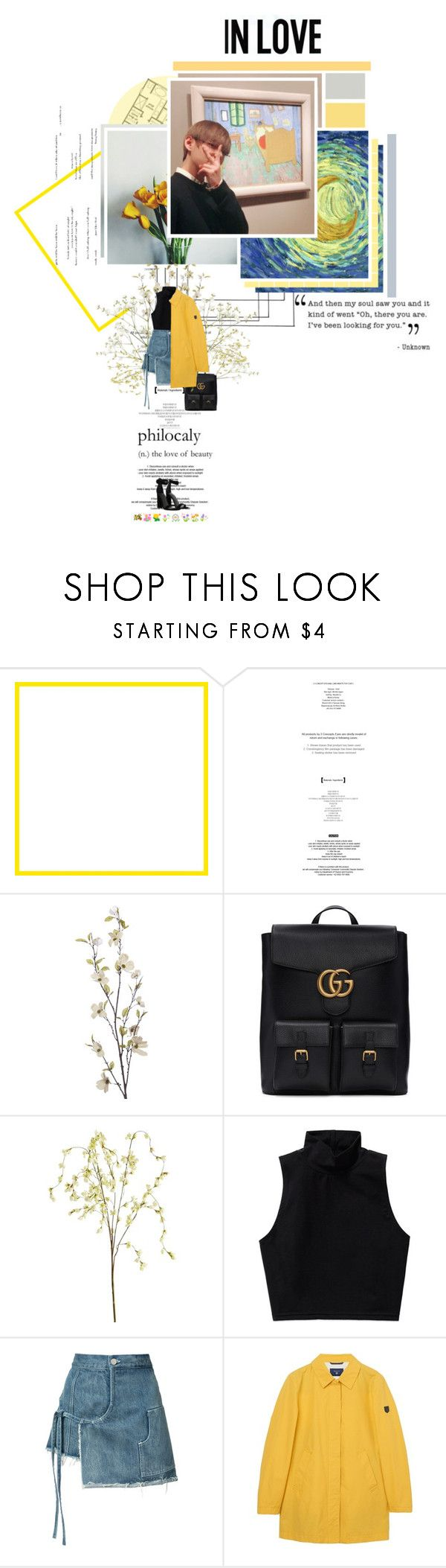 """""""🌸 ~ The Night We Met // LORD HURON ~ 🌸"""" by xxjay-gxx ❤ liked on Polyvore featuring StyleNanda, Pier 1 Imports, Gucci, Talula, Sandy Liang, GANT, Kendall + Kylie, bts, taehyung and TaeTae"""