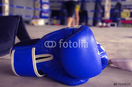 Boxing Glove Blue ( download now here ) http://us.fotolia.com/p/204830000/partner/204830000