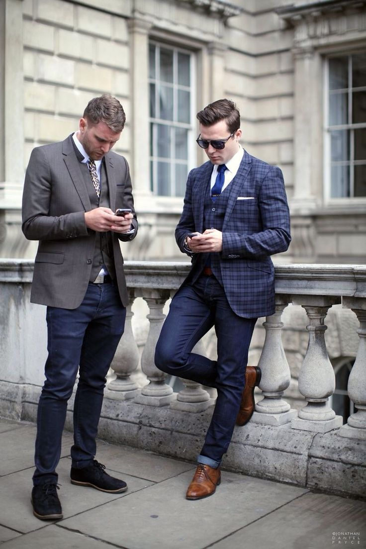 Fashion Weeks, Style Inspiration, Men Style, Jeans, Jackets, Men Fashion, Men Street Style, Casual Looks, London Fashion