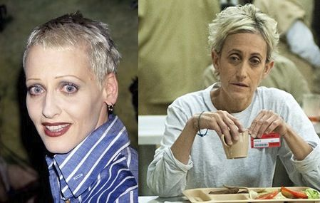 Lori Petty and that yoga lady from Orange is the New Black.