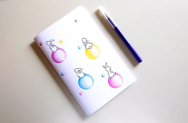 Copybook moon trip, fantasy illustration, design art, kids di ImImagination su Etsy