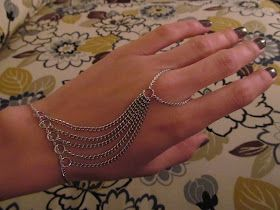 Dyi make your own ring braclet. Lots of room to personalize. I am so doing this!