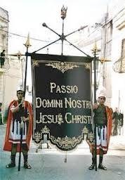 STENDARDO PASSIO DOMINI NOSTRI JESUS CHRISTI