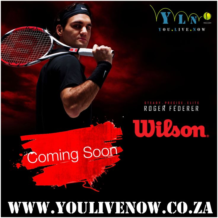 Keep an eye open for our NEW Wilson Stock that will be available for online purchase in October 2015.  www.youlivenow.co.za  #tenniswilson  #tennis #tennisballs