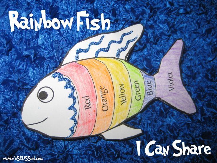 60 best the rainbow fish images on pinterest rainbow for Rainbow fish activities