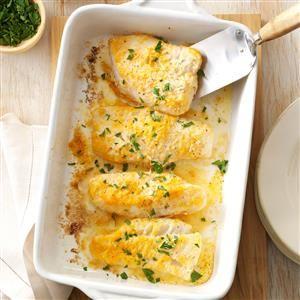 Zitronen-Petersilie Gebackener Kabeljau Rezept – Dies ist das erste Fischrezept, das zwei Daumen hat …   – Fish