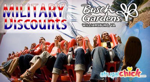 Busch Gardens Military Discount Military Discounts