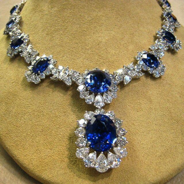 @bijancoinc. #platinum #ceylon #srilanka #sapphire and #diamond #necklace