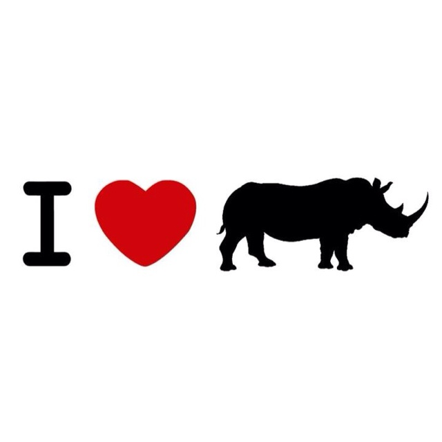 "Image courtesy of ""I love rhinos"" Facebook group."