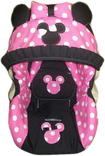 Minnie Mouse Infant Car Seat Cover Any Model