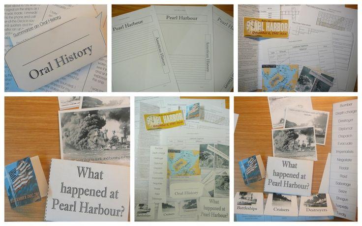 Pearl Harbor Lapbook (C3, W18)
