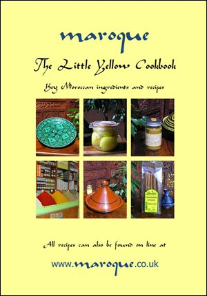 Maroque's Little Yellow Cook Book •    Packed full of Moroccan inspired recipes for you to enjoy •    Understand about key Moroccan ingredients •    Learn about tagines, how to season and use them