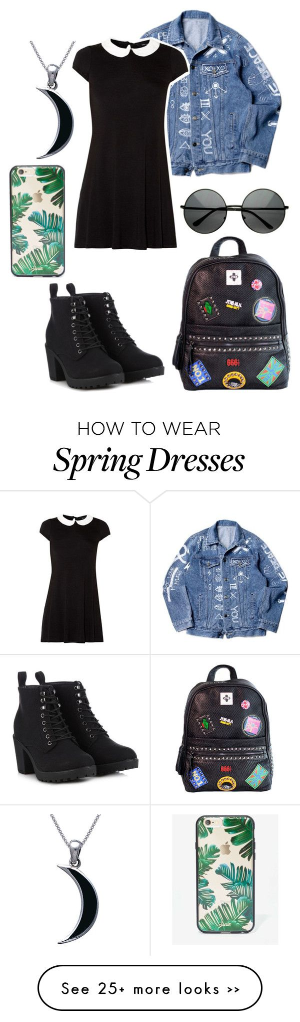 """First day of school"" by shadowjinxx on Polyvore"