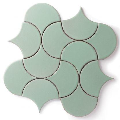 Fireclay Tile Pattern: Ogee Drop - Moroccan
