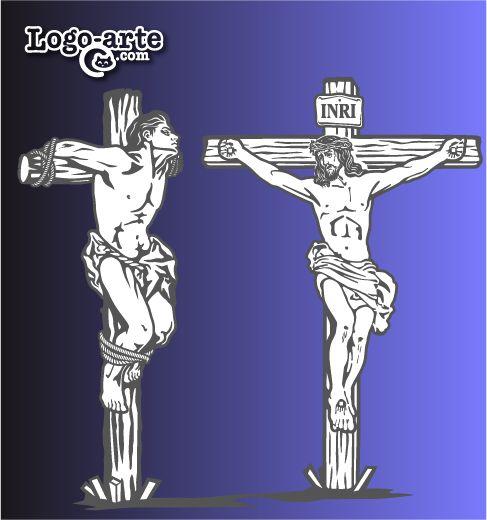 """Undécima estación del Viacrucis: Jesús promete su reino al buen ladrón  Junto a Jesús crucificado habían dos hombres más esperando el mismo final.   Dimas, el buen ladrón, le dijo a Jesús: """"Señor acuérdate de mi cuando estés en el paraíso"""".  Jesús le respondió: """"En verdad te digo: hoy estarás conmigo en el paraíso"""""""
