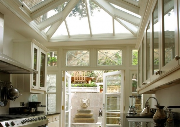 Bright Kitchen Interior Natural Nuance Conservatory Kitchens Bright Kitchens Dreams Kitchens Kitchens