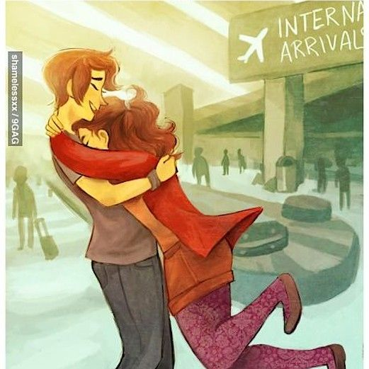 A playlist for long distance relationships. Listen when you're missing someone and remember that the moment at the arrival gate is on its way :) Click to play!!