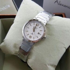 Jam Tangan Wanita Alexandre Christie AC 8313 Silver Original