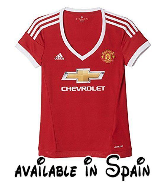 B013COGA36   adidas MUFC H JSY W - Camiseta para mujer color rojo   blanco  talla XL. Brand New With Tags. Worn during 2015-16 season. 2140104568e4d