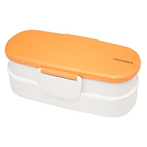 Bento-Box Double Slim Orange
