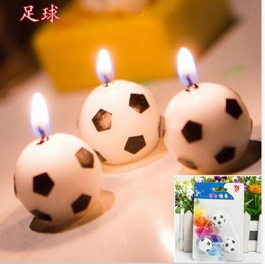 M s de 1000 ideas sobre fiestas de cumplea os de f tbol en - Proveedores de velas ...