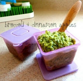{Broccoli In Disguise} Broccoli and Cinnamon Apples