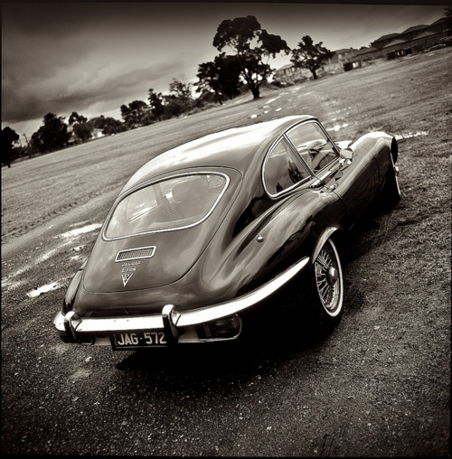 #Jaguar E-Type is probably one of the best sculpted classic in my opinion.