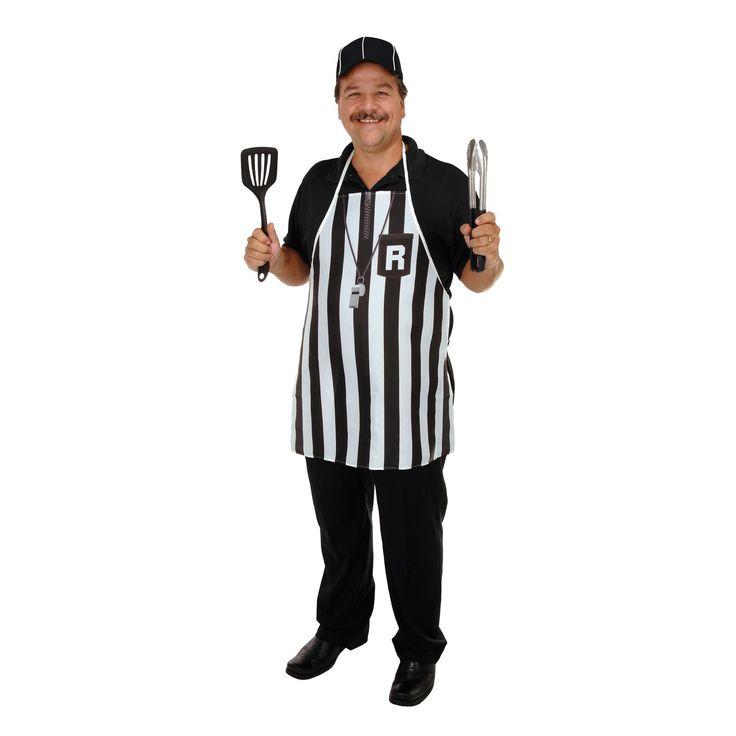 Referee Fabric Novelty Apron Football Stuff to Wear (6ct)
