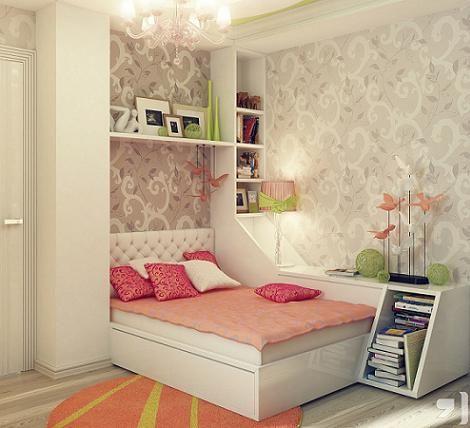 Dormitorio de chica