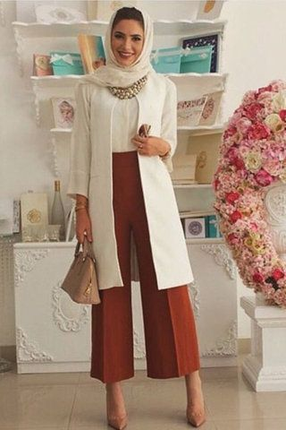 nice cool How to Get the Modern Hijab Street Style Look by www.newfashiontre......