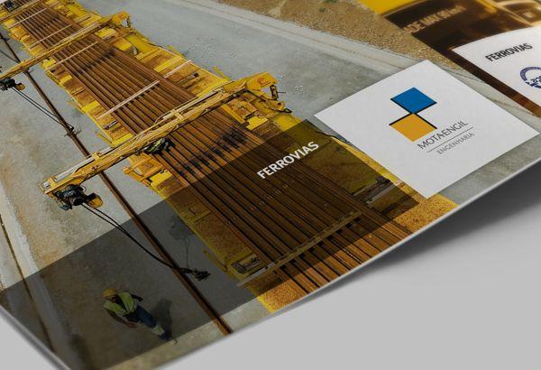 Brosur Perusahaan - 4 Fold Brochure Design 1